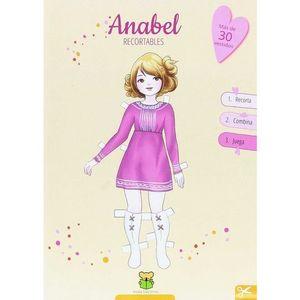 RECORTABLES. ANABEL (MÁS DE 30 VESTIDOS) (4/8 AÑOS)