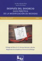 DESPUES DEL DIVORCIO. GUIA PRACTICA DE LA MODIFICACION DE MEDIDAS