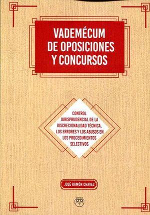 VADEMÉCUM DE OPOSICIONES Y CONCURSOS