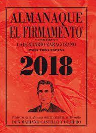 ALMANAQUE EL FIRMAMENTO 2018 CALENDARIO ZARAGOZANO