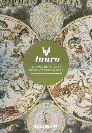 TAURO - 60 LEMAS DE TAURO EN DIFERENTES TIPOGRAFIAS