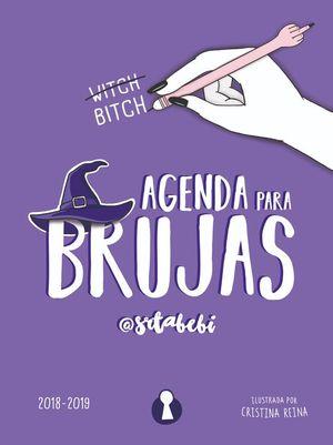 AGENDA PARA BRUJAS 2018 - 2019 (EDICION ESCOLAR LIMITADA)