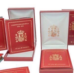 ESTUCHE CONSTITUCION ESPAÑOLA 1978-2018