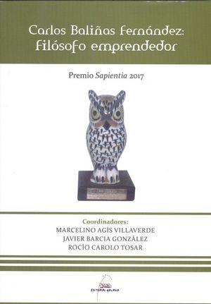 CARLOS BALIÑAS FERNANDEZ: FILOSOFO EMPRENDEDOR