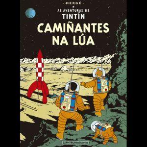 AS AVENTURAS DE TINTIN: CAMIÑANTES NA LUA