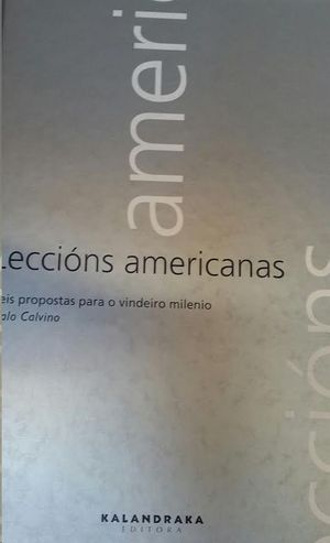 LECCIONS AMERICANAS