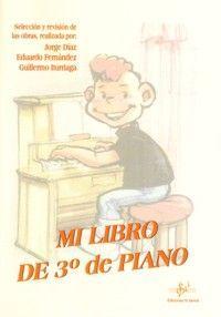 MI LIBRO DE TERCERO DE PIANO