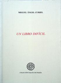 UN LIBRO DIFÍCIL