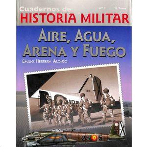 AIRE, AGUA, ARENA Y FUEGO