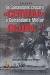 DE COMANDANTE CRUCERO CERVERA A COMANDANTE MILITAR GIJÓN...