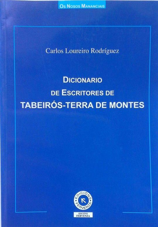 DICIONARIO DE ESCRITORES DE TABEIRÓS