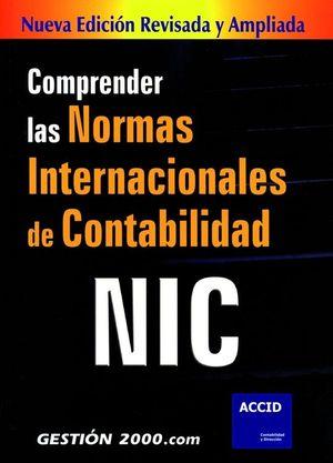 COMPRENDER LAS NORMAS INTERNACIONALES DE CONTABILIDAD NIC