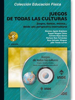 JUEGOS DE TODAS LAS CULTURAS (LIBRO + CD)