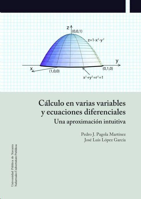 CÁLCULO EN VARIAS VARIABLES Y ECUACIONES DIFERENCIALES