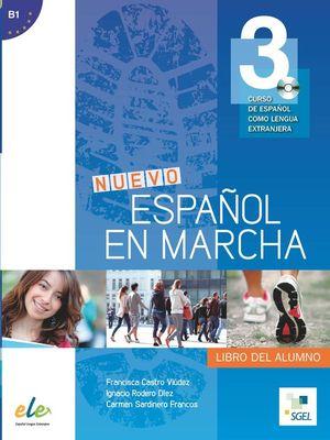 NUEVO ESPAÑOL EN MARCHA 3 LIBRO ALUMNO + CD
