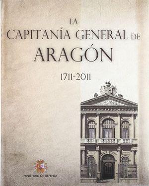LA CAPITANÍA GENERAL DE ARAGÓN