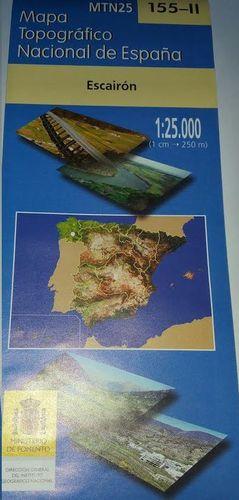 MTN 25. HOJA 155-II, ESCAIRÓN