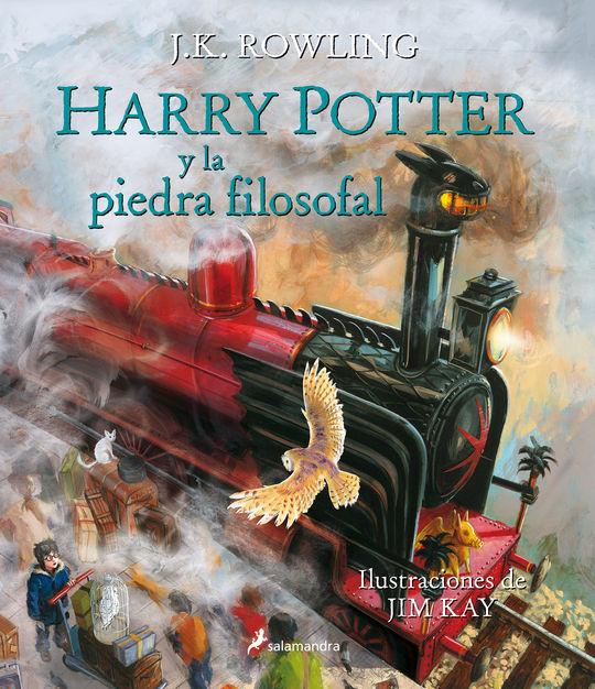 HARRY POTTER Y LA PIEDRA FILOSOFAL (EDICIÓN ILUSTRADA)