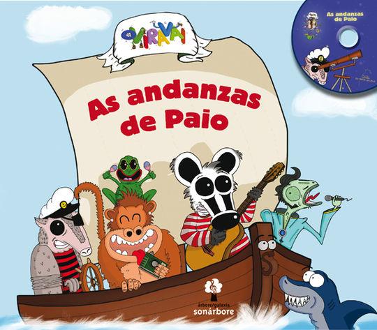 AS ANDANZAS DE PAIO (CONTÉN CD)