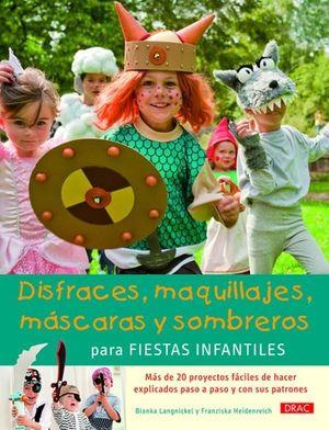 DISFRACES MAQUILLAJES MASCARAS Y SOMBREROS PARA FIESTAS