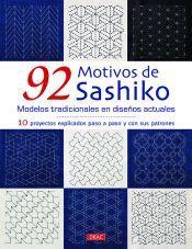 92 MOTIVOS DE SASHIKO. MODELOS TRADICIONALES EN DISEÑOS ACTUALES