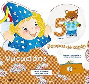 POMPAS DE XABÓN. CADERNO DE VACACIÓNS 5 ANOS