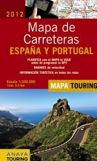 MAPA DE CARRETERAS DE ESPAÑA Y PORTUGAL, E 1