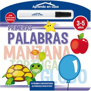 PRIMERAS PALABRAS (LIBRO PIZARRA)