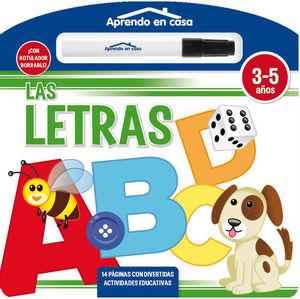 LAS LETRAS (LIBRO PIZARRA)