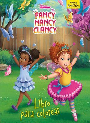 FANCY NANCY CLANCY: LIBRO PARA COLOREAR
