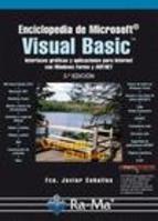 ENCICLOPEDIA DE MICROSOFT VISUAL BASIC. INTERFACES GRÁFICAS Y APLICACIONES PARA