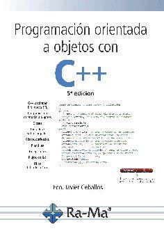 PROGRAMACIÓN ORIENTADA A OBJETOS CON C++