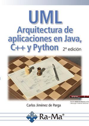 UML ARQUITECTURA DE APLICACIONES EN JAVA C++ Y PYTHON