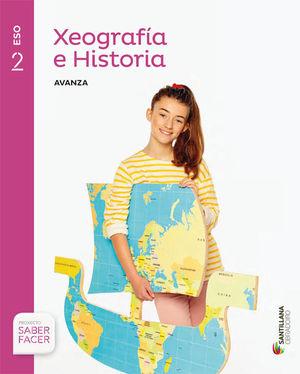 XEOGRAFIA E HISTORIA SERIE AVANZA 2 ESO SABER FACER
