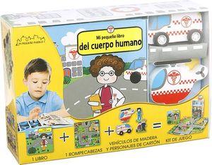 CAJA PUZZLE: MI PEQUEÑO LIBRO DEL CUERPO HUNMANO