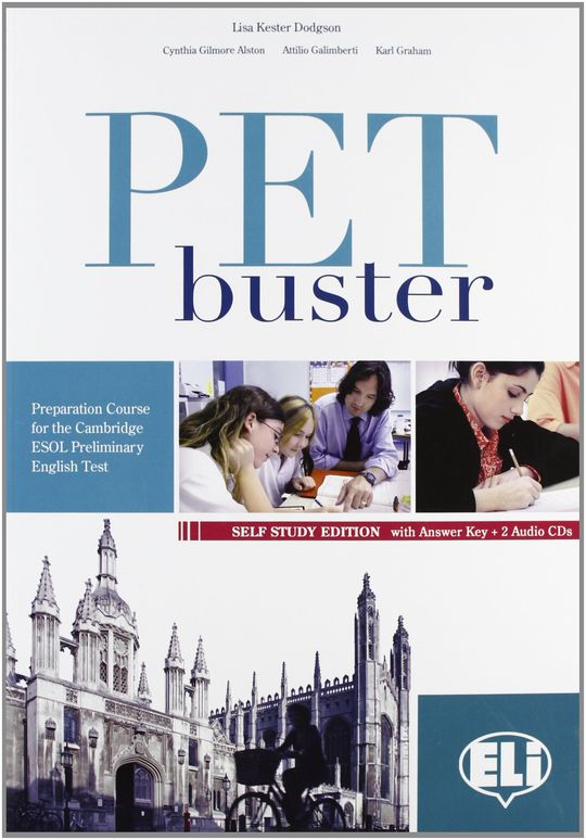 PET BUSTER SEFL STUDY EDITION WITH ANSWER KEY + 2 AUDIO CDS