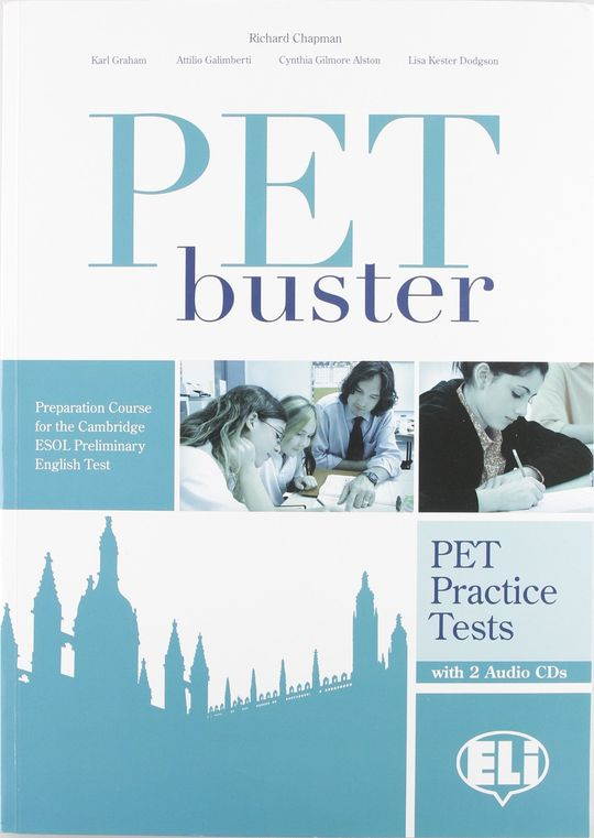 PET BUSTER PRACTICE TEST WITH 2 AUDIO CDS