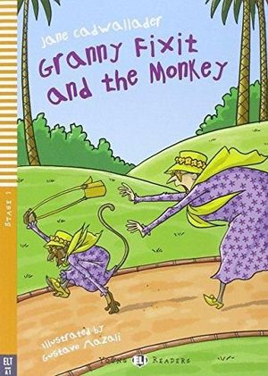 GRANNY FIXIT AND THE MONKEY (+CD)