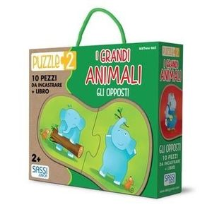 CAJA PUZZLE GRANDES ANIMALES -OPUESTOS-