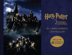EL LIBRO MÁGICO LENTICULAR DE HARRY POTTER Y LA PIEDRA FILOS