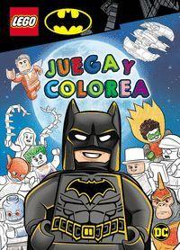 BATMAN LEGO. JUEGA Y COLOREA