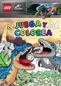 JURASSIC WORLD LEGO. JUEGA Y COLOREA