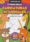 TÚ PUEDES DIBUJAR, CARICATURAS DE ANIMALES