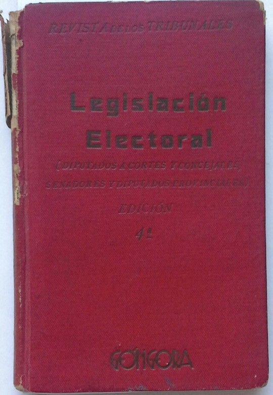 LESGISLACION  ELECTORAL