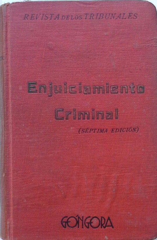 ENJUICIAMIENTO CRIMIMAL