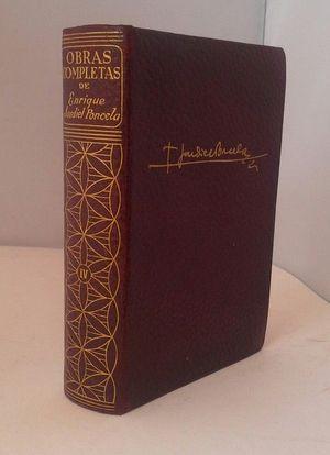 OBRAS COMPLETAS DE ENRIQUE JARDIEL PONCELA TOMO IV