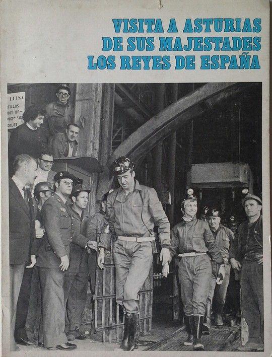 VISITA A ASTURIAS DE SUS MAJESTADES LOS REYES DE ESPAÑA Y 19 MAYO  1976