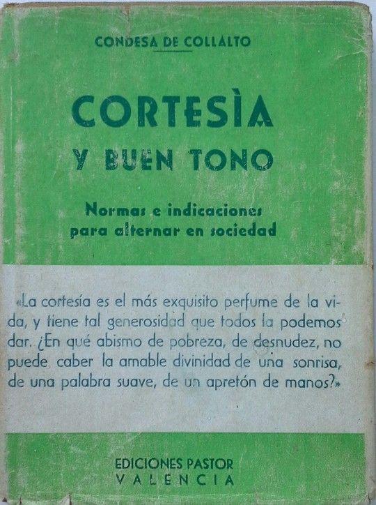 CORTESIA Y BUEN TONO