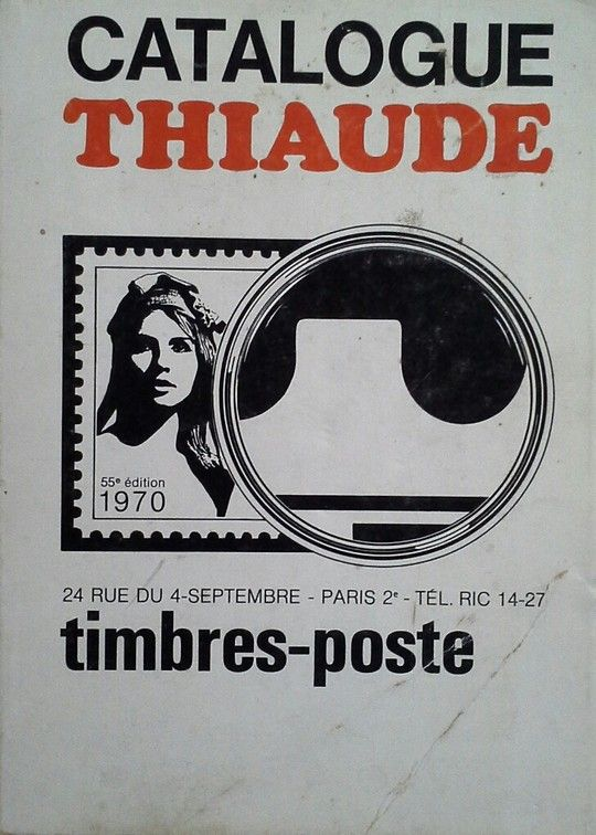 CATALOGUE THIAUDE