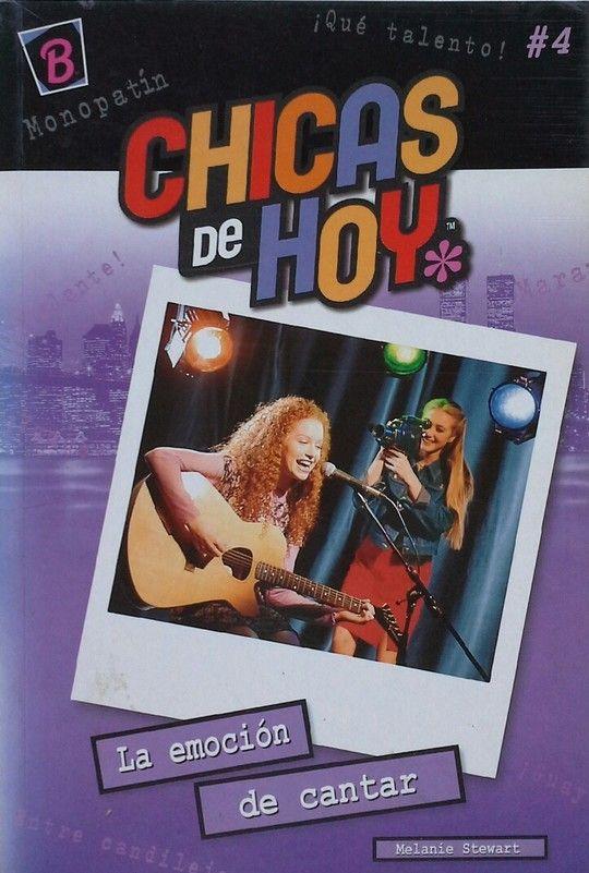 CHICAS DE HOY   LA EMOCION DE CANTAR